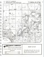 Fifty Lakes, Manhattan T138N-R27W, Crow Wing County 1975